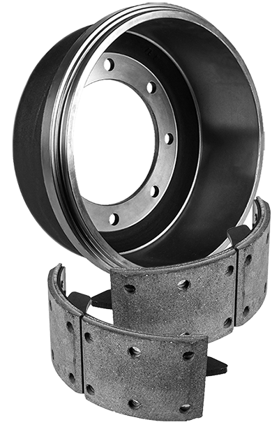 Brake Drum and Shoes